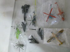 10 Die Cast Helicopters, Blackbirds, Jets 1/64