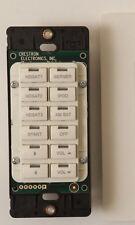 21 SOLD! Crestron C2N-DB12A (Almond) 12 Button Keypad Mint DB12