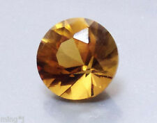7 mm BRILLIANT ROUND NATURAL COGNAC QUARTZ #R502