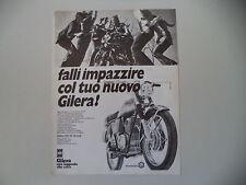 advertising Pubblicità 1972 MOTO GILERA 150 5V ARCORE