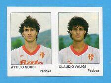 CALCIO FLASH '85-LAMPO-Figurina n.391- SORBI+VALIGI - PADOVA -NEW