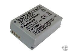 batteria per CANON NB-7L Li-ion 800 mAh 3,7V nuova
