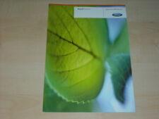 40252) Ford Focus S-Max Galaxy Flexifuel Prospekt 01/2008
