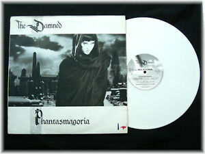 THE DAMNED * Phantasmagoria * WHITE VINYL LP Original 1985