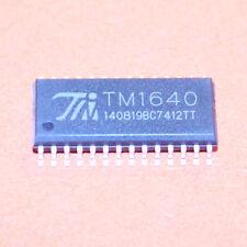 2 STK. TM1640 LED DISPLAY TREIBER SOP-28 NEU ARDUINO 2pcs.
