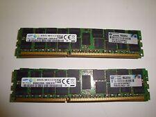 HP 647653-181 16GB PC3L-10600R ECC REG Memory  M393B2G70QH0-YH9Q8 647883-B21
