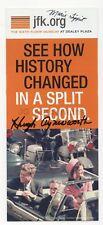 Marie Tippit & Hugh Aynesworth - Signed JFK 6th Floor Museum Brochure