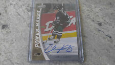 2006-07 Upper Deck Power Play Chris Kunitz On Card Auto Ducks