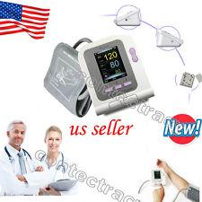 Digital LCD arm Blood Pressure Monitor Heart Beat Rate Meter Measure,free s