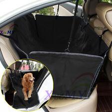 NEW Waterproof Car Rear Back Seat Cover Pet Dog Cat Protector Hammock Mat Black