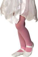 Rubies Girl's Fancy Fashion Dance Nylon Sparkle Tights, Blue Lavender Pink White