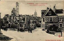 CPA MILITAIRE Villersexel-Ruines de la Grande-Rue (316991)