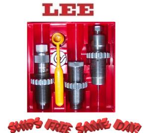 Lee Precision Carbide 3 Die Set for 9mm Luger 9x19 Parabellum # 90509 New!