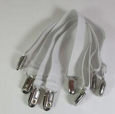 2 Bettlakenspanner / Bettuchspanner  35 bis 120 cm dehnbar mit Metallklammern