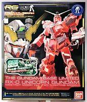 BANDAI RG 1/144 The Gundam Base Limited RX-0 Unicorn Gundam Ver.TWC Lighting Mod