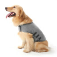Pet Dog Calm Vest Jacket Anti-Anxiety Stress Relief S-XL Coat Soft Costume