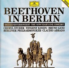 BEETHOVEN IN BERLIN - STUDER, KISSIN, GANZ - BP, ABBADO / CD