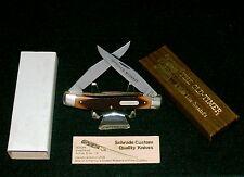 "Schrade 77OT Knife Old Timer ""Improved Muskrat"" W/Original Packaging,Papers Rare"