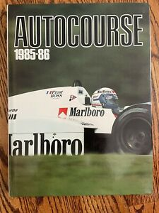 AUTOCOURSE The World's Leading Grand Prix Annual      (YOUR CHOICE of YEARS)