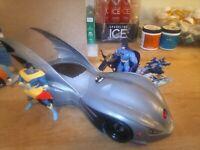 Kenner legends of batman Batmobile, Action Figure Lot, Batman, Nightwing,...
