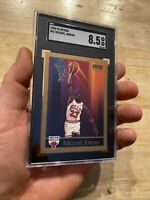 Michael Jordan SGC 8.5 Skybox 1990 Last Dance Card Collector Chicago Bulls 41 NR
