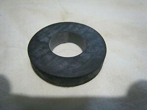 10 Stück Gummischeiben, Unterlegscheiben Gummi,z.B. zum Entkoppeln 30 x 6 mm M12