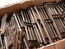 Box of  Lionel O Gauge Track, 85  Pieces of  Straight,  Needs Cleaning