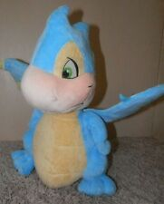 Neopets Blue Scorchio Dragon Stuffed Animal Plush 2008 Jakks