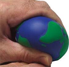 Nuevo Bola De Espuma mundial de alivio de tensión Palma Bola Planeta Tierra stressball Physio UK