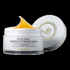 Celgen Gold Snail Overnight Firming Mask 100g Gel Type Moisturizer Natural