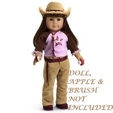 """AUTHENTIC AMERICAN GIRL JLY 2005 HORSE LOVER OUTFIT FOR 18"""" DOLLS (468)"""