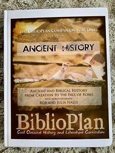 Biblioplan Companion Book - Year 1 - Ancient History, Geography