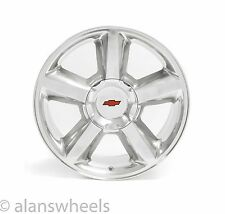"4 NEW Chevy Silverado Avalanche RBT Polished 20"" Wheels Rims Free Shipping 5308"