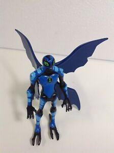 """Cartoon Net Ben10 Alien Force Big Blue Chill 1:16 Bandai 4"""" Action Figure"""