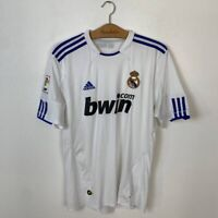 REAL MADRID HOME FOOTBALL SHIRT 2010/2011 SOCCER JERSEY ADIDAS TRIKOT SIZE M