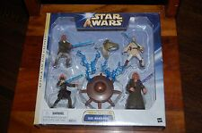 Jedi Warriors-Star Wars Attack of the Clones-4 Figures Saga