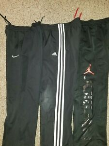 Lot of 3 boy's Nike Air Jordan Dri-fit & Adidas athletic pant size small 8-10