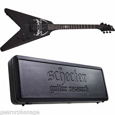 Schecter Sin Quirin V-1 Plus Schecter SGR-V8 Case! *NEW* V1 Ministry Signature