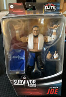 WWE Wrestling Figure Mattel Elite Samoa Joe Survivor Series Rare IN HAND MINT!!