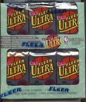 1992-93 Fleer Ultra Series 1 Basketball 36ct Jumbo Box