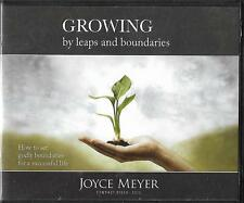 GROWING BY LEAPS AND BOUNDARIES     6 CDS       Joyce Meyer