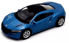 2017 Honda NSX, Blue, Welly NEX, Scale 1:60-1:64 52354