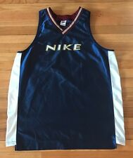 Vintage Nike Swoosh Basketball Jersey Size XXL Spellout