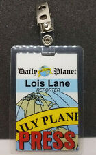 Superman Smallville ID Badge -Lois Lane Reporter Press Pass costume prop cosplay