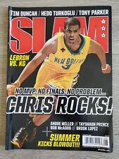 SLAM Magazine - August 2008 - Chris Paul New Orleans Throwback Tim Duncan 120