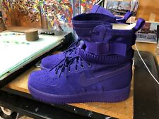 Nike SF AF 1 Air Force 1 Court Purple Suede  Size US 10 Men 864024 500 New