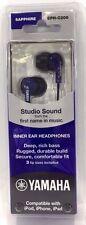Yamaha EPH-C200 In-Ear Headphones - Blue