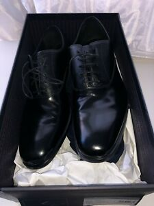 Prada dress shoes oxford dual-texture size 9 us 100% Authentic