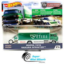 Hot Wheels Car Culture Team Transport #16 Mazda 787B /Sakura Sprinter
