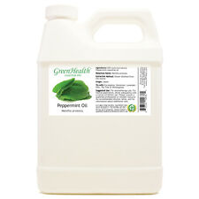 32 fl oz Peppermint Essential Oil 100% Pure Plastic Jug - GreenHealth